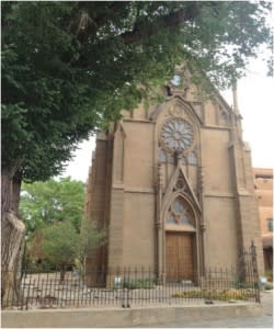 There couldn't be a better place to tune into Santa Fe's musical scene than the Loretto Chapel.