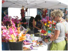 We celebrate the return of spring with bright bouquets of color from the Santa Fe Farmers' Market.