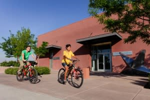 You didn't know Santa Fe culture included bike culture, did you?