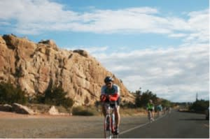 Better get it in gear for the 29th Annual Santa Fe Century Ride on May 18th.
