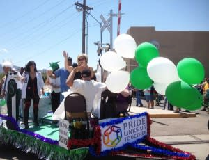 Santa Fe shows its pride of place at the June Pride parade.