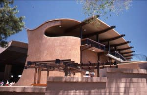 With a new theater in 1967, the Santa Fe Opera came back to life. (Photo Credit: Eduardo Fuss, Archives Center for Southwest Research at UNM University Library)