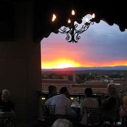 Bidding the sun adiós from La Fonda is a Santa Fe tradition.
