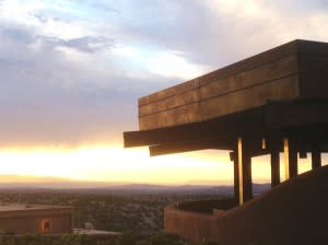 Santa Fe Opera sunsets are music for the eyes.
