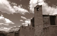 Another Santa Fe Photographic Workshops student strikes photographic gold (and sepia) (Photo courtesy of Tina Miller.)