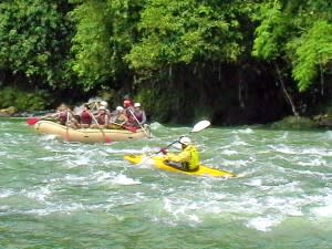 Get your vacation off the ground with the rush of river rafting.