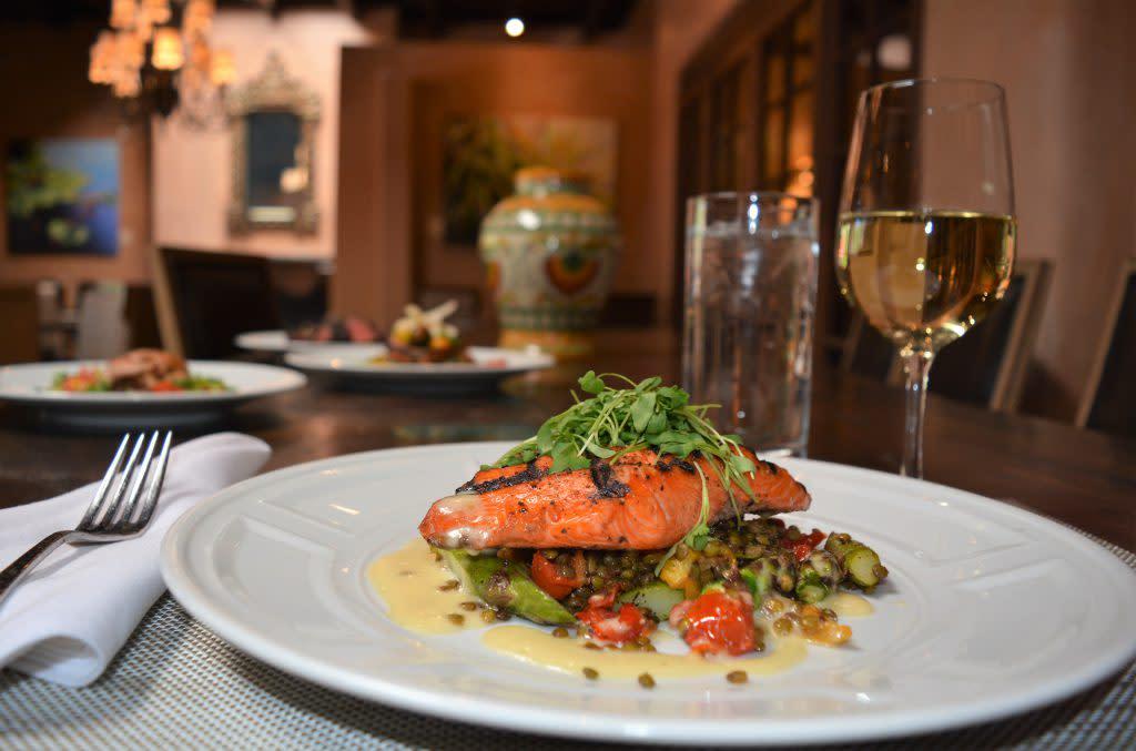 Wine and Dinner pairing at Julia, A Spirited Restaurant & Bar at La Posada de Santa Fe