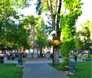 A simple stroll downtown offers a breathtaking outdoor experience.