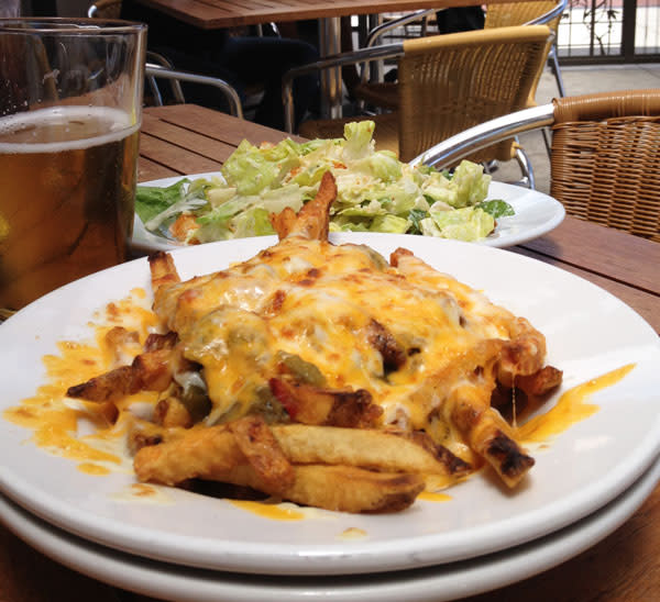 Look out! There's some hot chile lurking in those cheese fries at Second Street.