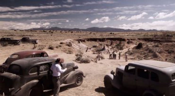 New Mexico has a starring role in Manhattan! (Photo Credit: WGN America)