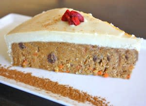 Bright eyes are a bonus when your daily dose of carrots comes from BODY Café's raw vegan carrot cake.