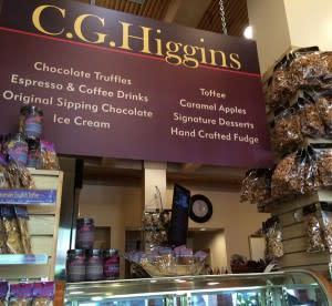 Good luck choosing at C. G. Higgins!
