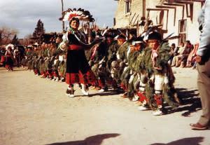 Native American, Pueblo, Tesuque, dance
