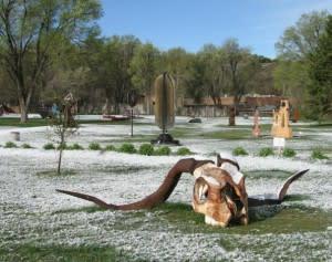 Santa Fe, New Mexico, art, outdoor