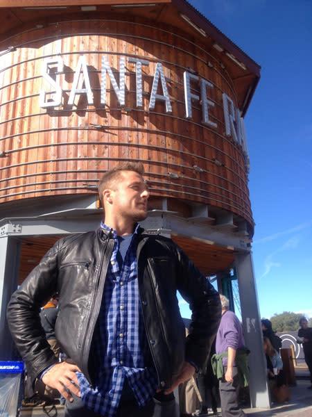 The Bachelor, Chris Soules, had a Santa Fe backdrop for romance. (Photo Credit: ABC)