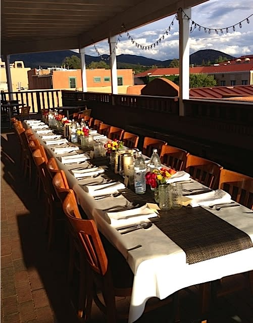 There's no charge for the view at a Santa Fe Culinary Academy pop-up dinner. (Photo Credit: Santa Fe Culinary Academy)