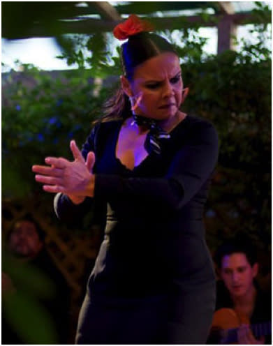 Friday Flamenco at El Farol is a fiery affair! (Photo Credit: El Farol Santa Fe)