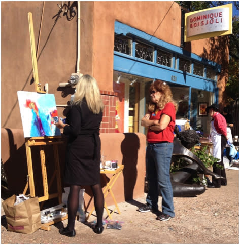 Picture yourself in Santa Fe!