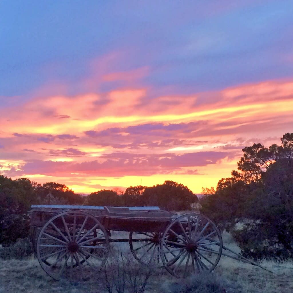Santa Fe has unforgettable sunsets – nightly!