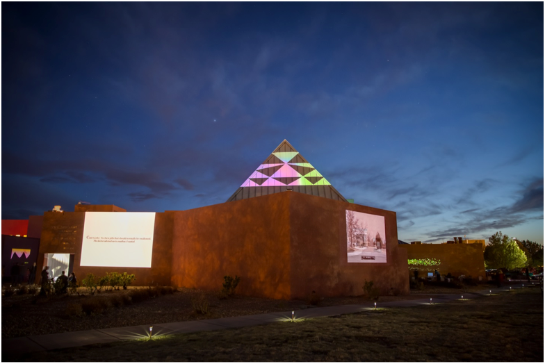 The sky's the limit on creative ideas when SFUAD's Vision Fest lights the way to May. (Photo Credit: Santa Fe University of Art and Design)