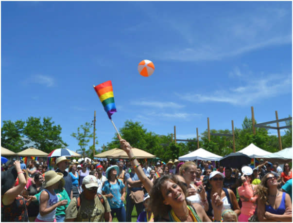 Santa Fe Pride is a multi-hued, multicultural, multi-generational haven for confident self-expression.