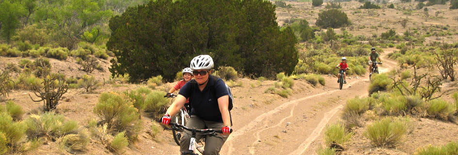 Why not plan a family ride on a Santa Fe bike trail?
