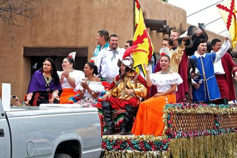 Fiestas de Santa Fe take place each September