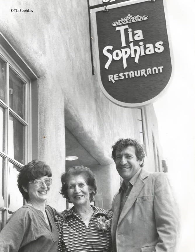 Georgia Maryol, Sophia Kellis (for whom the restaurant is named) and Jim Maryol.