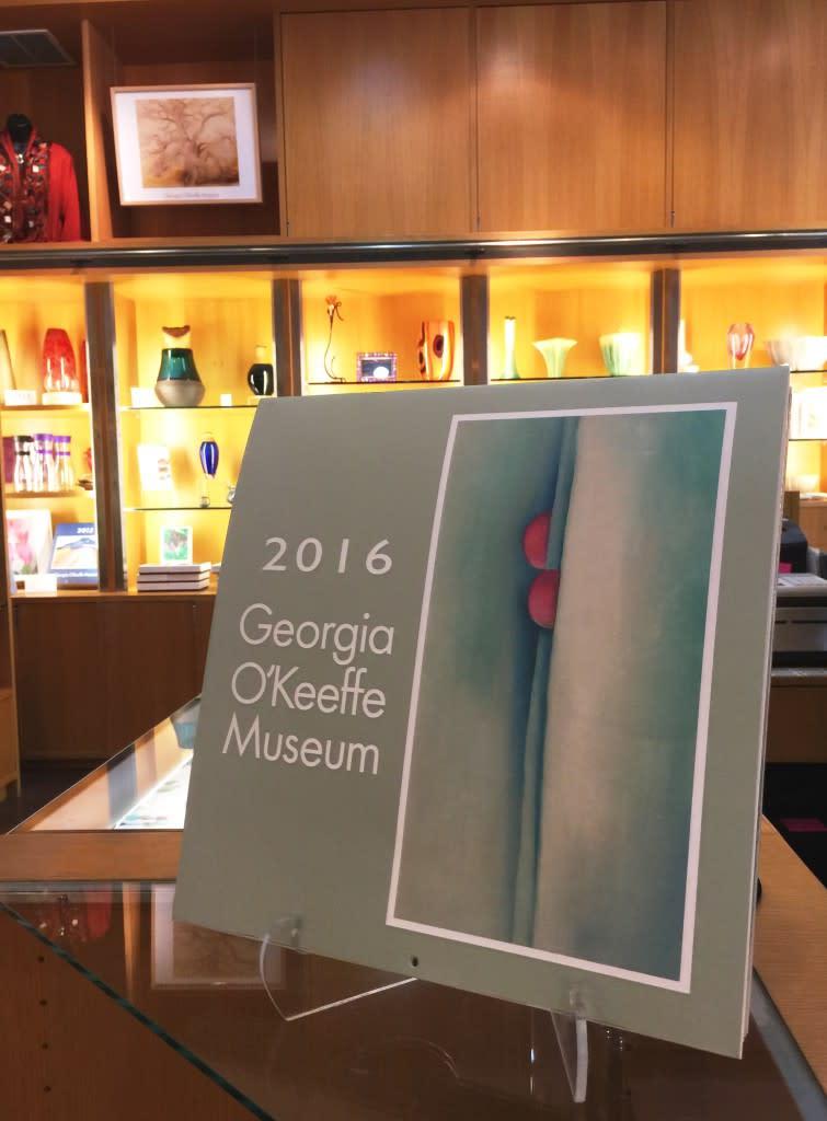 The Georgia O'Keeffe calendar is always a favorite!