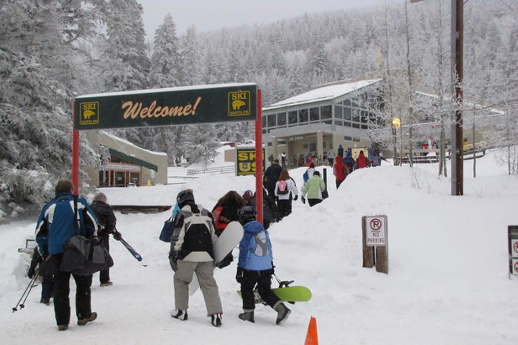 The Santa Fe Ski season traditionally begins on Thanksgiving Day (weather permitting).