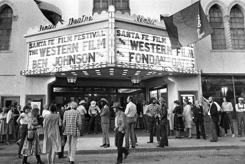 The Santa Fe Film Festival was founded in 1999. (Photo courtesy of Palace of the Governors Photo Archives)