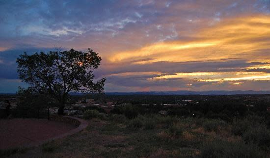Take in one of Santa Fe's most panoramic views at the Cross of the Martyrs. (Photo courtesy of Macfand)
