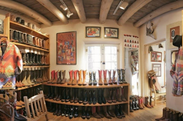Dress up or dress down as the occasion demands with boots from Back at the Ranch. Photo courtesy of Fresh Cut Spaces