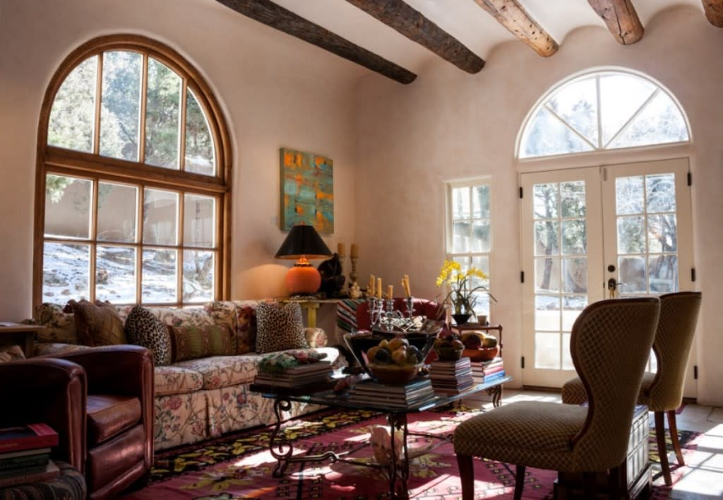 Your chance to tour some of Santa Fe's finest homes and furnished with some of the best art from local galleries. (Photo courtesy of ARTSmart)