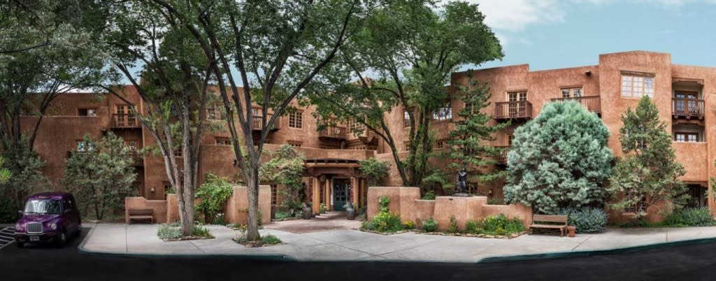 Hotel Santa Fe is an award winning hotel, steps away from historic downtown Santa Fe. (Photo courtesy of Hotel Santa Fe)