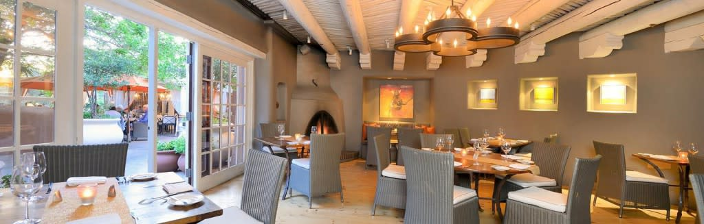 Luminaria Restaurant and Patio is an award-winning restaurant offering casual fine dining. (Photo courtesy of Inn and Spa at Loretto)