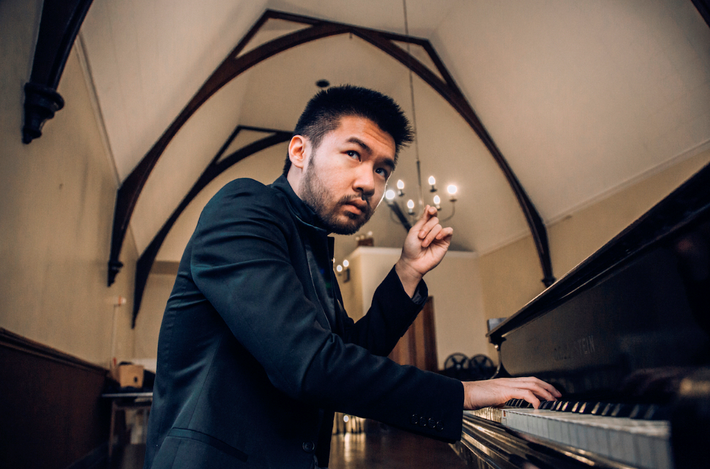 Conrad Tao will perform works by well-known composers this April. (Photo courtesy Conrad Tao)