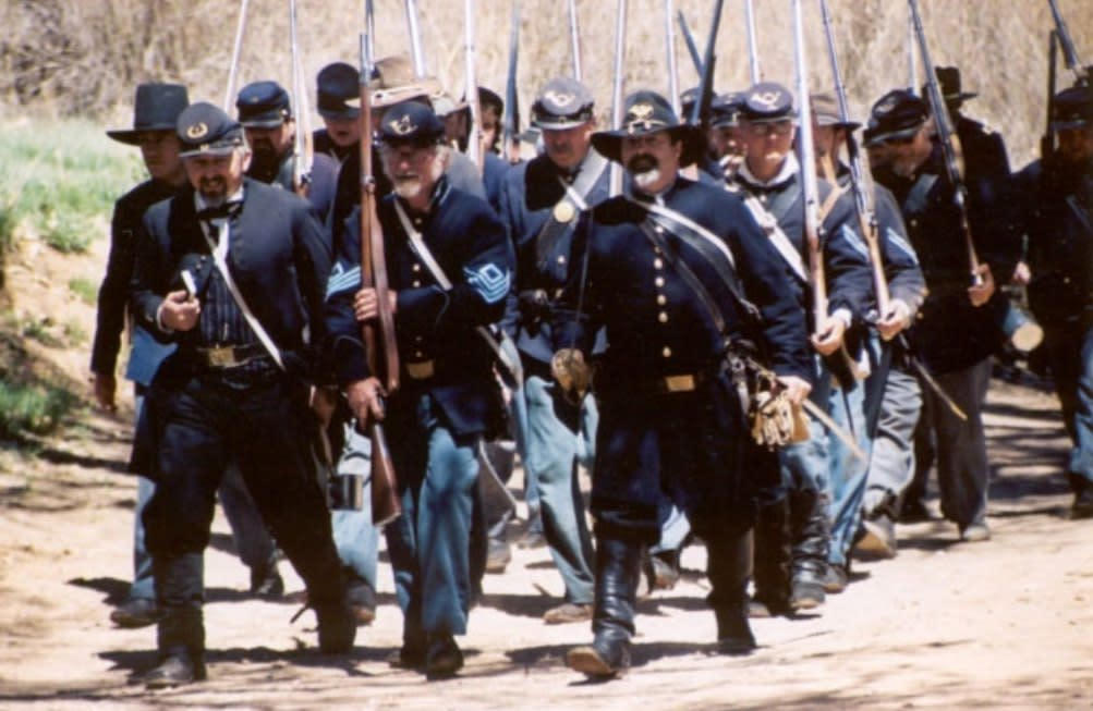 Witness Civil War reenactments at Rancho de las Golondrinas. (Photo courtesy of Rancho de las Golondrinas)