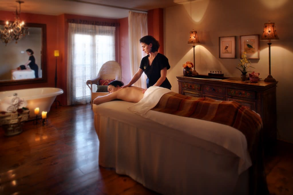 The Spa at Loretto takes a respectfully holistic approach to the art of massage therapy and well-being. (Photo courtesy of The Inn And Spa at Loretto)