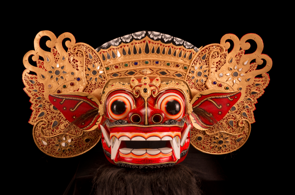 Baron Ket mask. Made by Ida Bagus Anom Suryawan. Circa 2011 (Courtesy of Museum of International Folk Art)