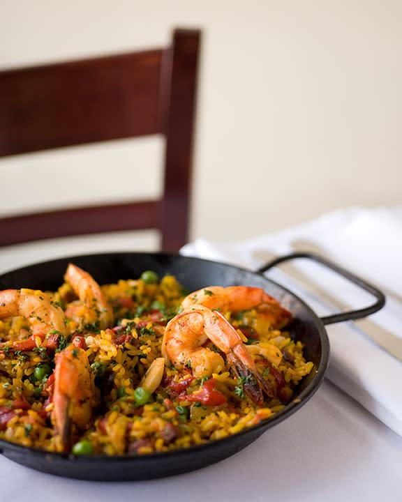 Take a trip to Spain via Santa Fe with paella at La Boca. (Photo courtesy of La Boca)