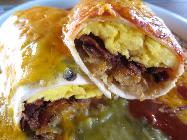 Food Network calls Tia's Sophia's breakfast burrito the best ever. (Photo courtesy of USA Today 10Best)