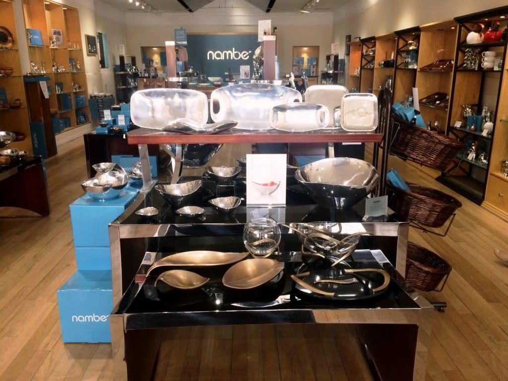 Nambé has three retail locations located in Santa Fe. (Photo courtesy of Nambé)