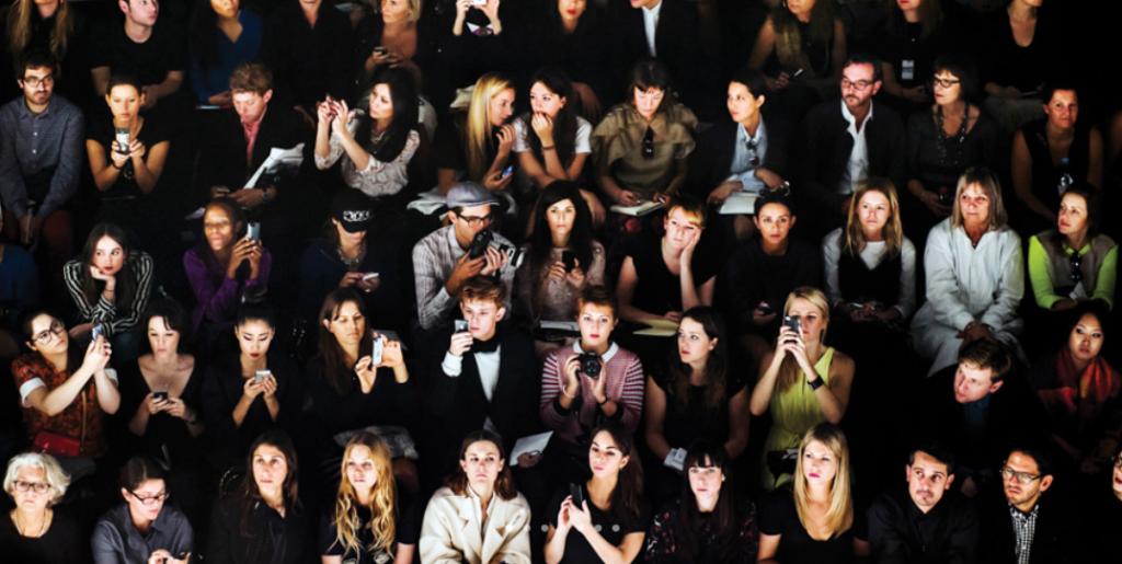 """""""Audience, Issey Miyake"""" by Dina Litovsky 2014"""