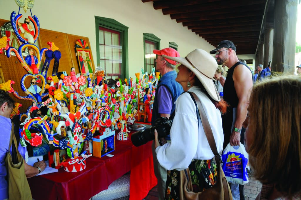 Santa Fe's Spanish Market pays tribute to traditional Spanish Colonial arts and culture. (Photo courtesy of TOURISM Santa Fe)