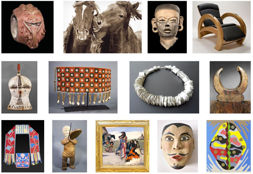 View and buy objects from around the world. (Photo courtesy of Objects of Santa Fe)