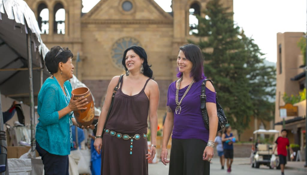 See the best of the best at the 95th Santa Fe Indian Market (Photo courtesy of TOURISM Santa Fe)