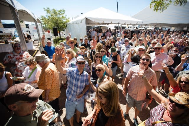 Now in its 26th year, the Santa Fe Wine and Chile Fiesta draws visitors from all around the country to this established Santa Fe event. (Photo courtesy of Santa Fe Wine & Chile Fiesta)