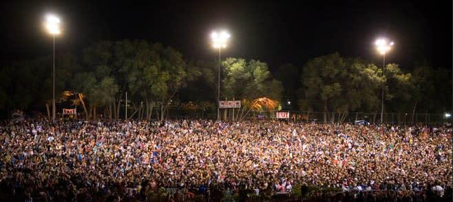 Over 48,00 Zozobra spectators attended last year's The Burning of Zozobra. (Photo courtesy of The Burning of Zozobra)