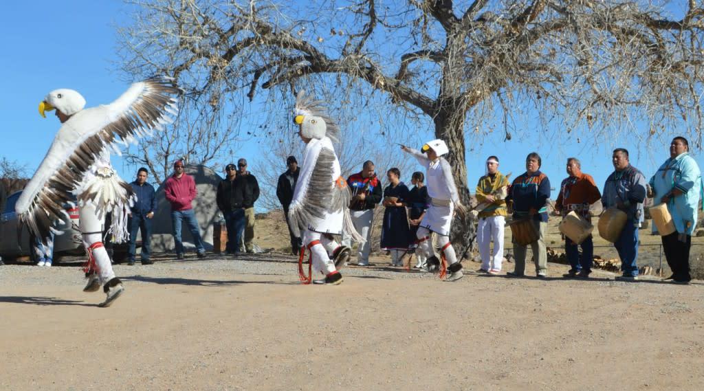 Eagle Dance, Pojoaque Pueblo Kings' Day,